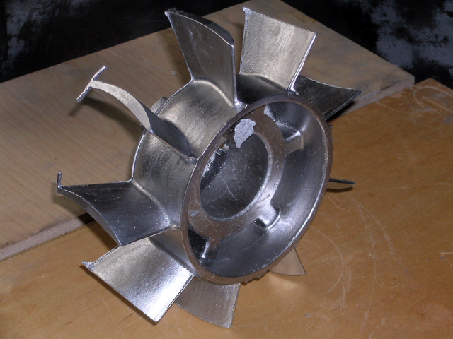 Отлить деталь из алюминия в домашних условиях